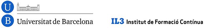 Acreditado por Universidad de Barcelona UB a través de IL3